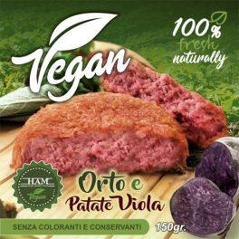 Hamburger Orto E Patate Viola 150 Gr CT  18