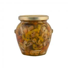 Funghi Tris In Olio Gr 980 PZ   1