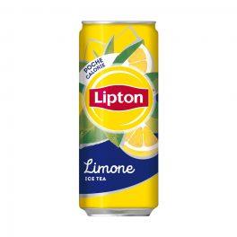 Lipton Ice Tea Limone Lattina 33cl CT  24