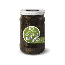 Olive Nere Rondelle Gr 1550 PZ   1