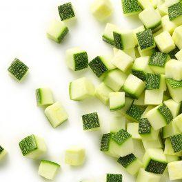 Zucchine Cubetti 4x Kg.2.5 CT   4