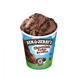 B&j Choco Fudge Brownie 465ml CT   8