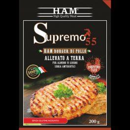 Hamburger Di Pollo Gr.200 X 12 CT  12